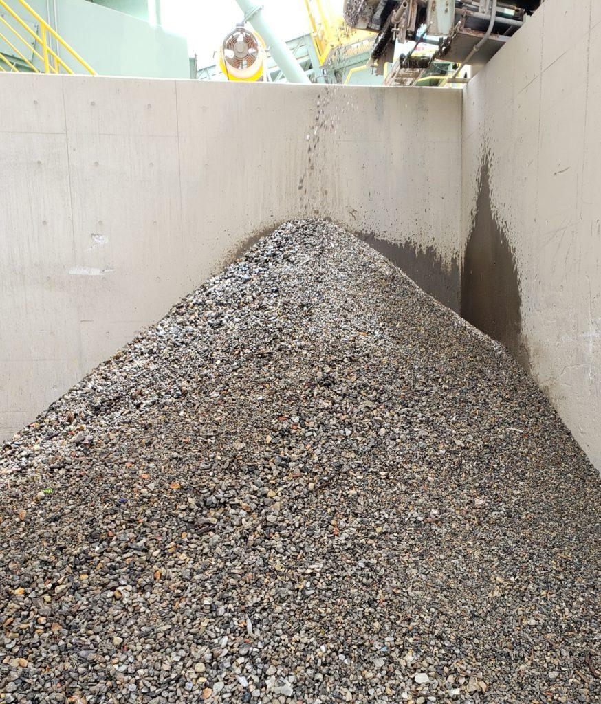 リサイクル洗浄石